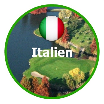 Golfresor Italien