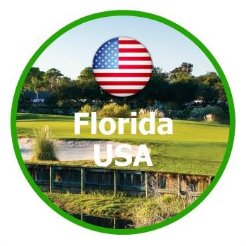 Golfresor Florida, USA