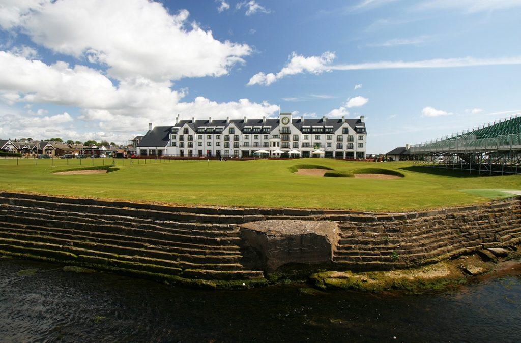 Carnoustie Championship Course - Golfrsor Skotlland